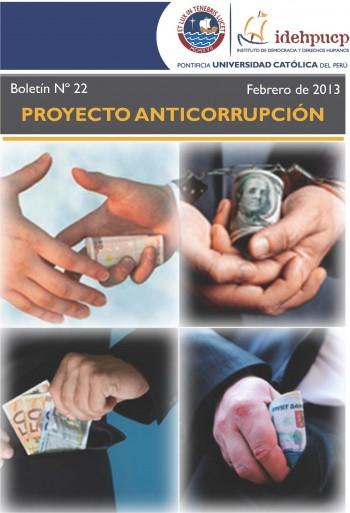 Boletín Anticorrupción 22