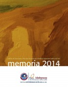 Memoria 2014 Portada