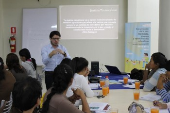 Programa de Formación Actores Sociales Ayacucho
