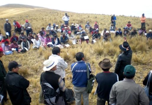 Resultado de imagen para CONFLICTO DE TIERRAS ENTRE COMUNIDADES CAMPESINAS.