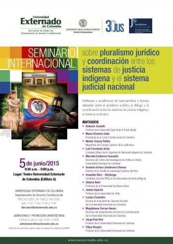 Seminario Pluralismo Jurídico