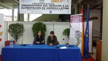 Derecho a la Alimentación Bolivia