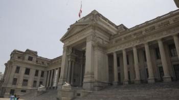 FACHADA DEL PALACIO DE JUSTICIA, SEDE CENTRAL DEL PODER JUDICIAL